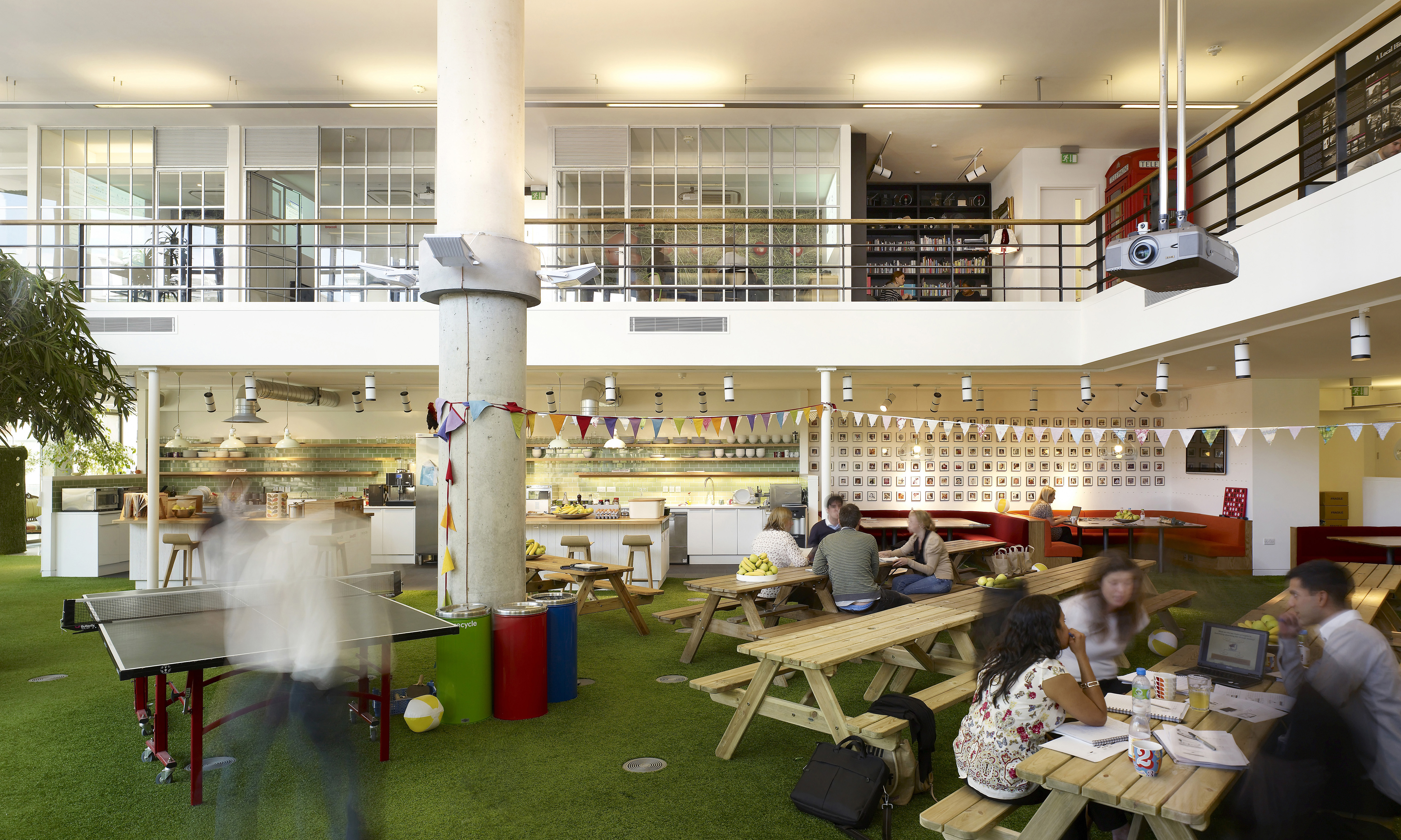 A kooky office makes for better business? Or does it?