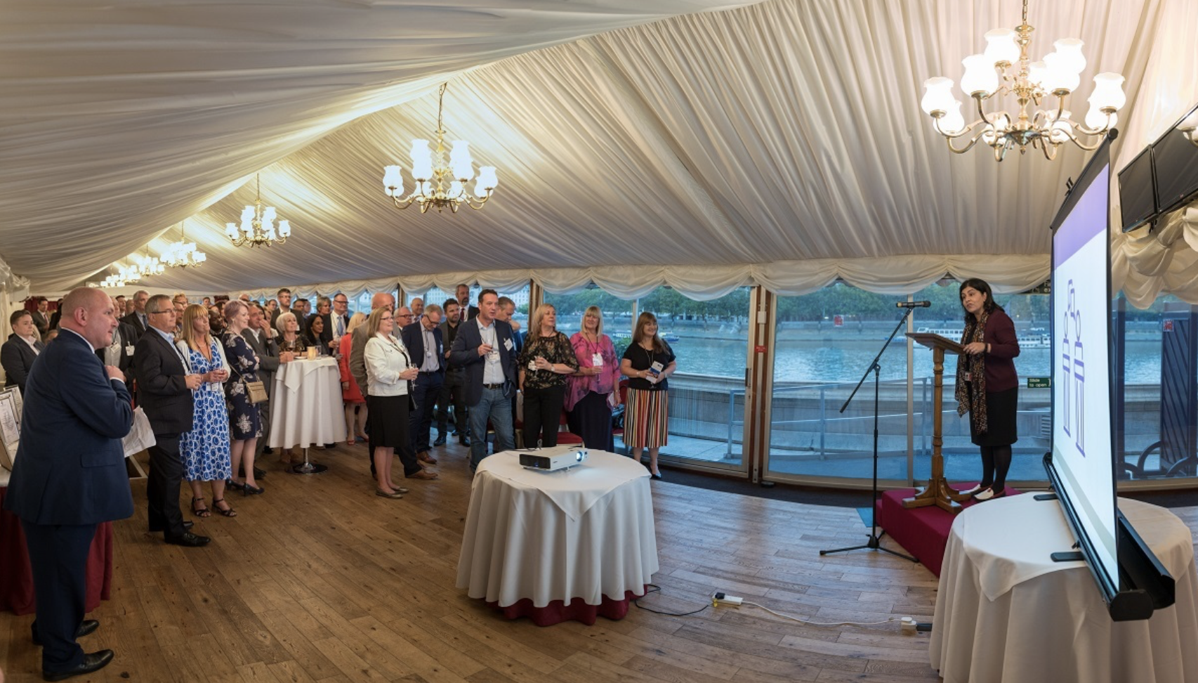 GOLD STAR: Claremont Centre recognised for excellence in House of Lords FIRA ceremony
