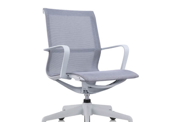 Grey bute chair